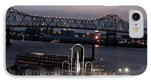 IPhone Case featuring the photograph Baton Rouge Bridge by Helen Haw