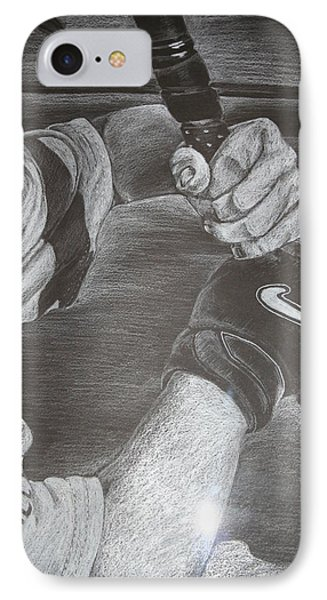Batter Up Phone Case by Melissa Wiater Chaney