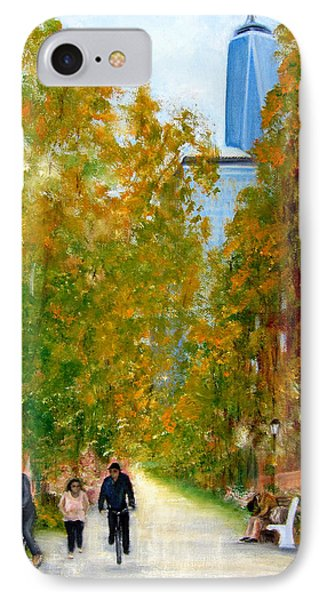Battery Park City Ny IPhone Case