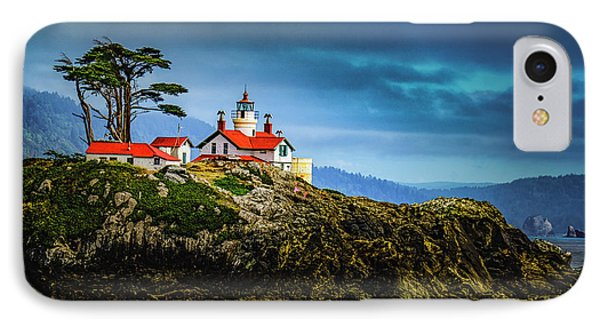 Battery Point Lighthouse IPhone Case by Janis Knight