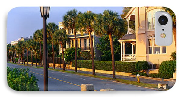 Battery Street Waterfront, Charleston IPhone Case by Panoramic Images
