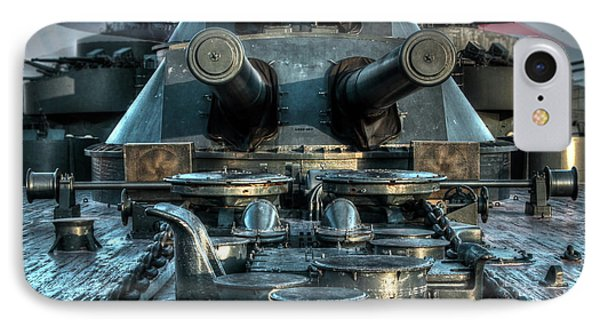 Battle Barge Texas IPhone Case by Ken Shuffield