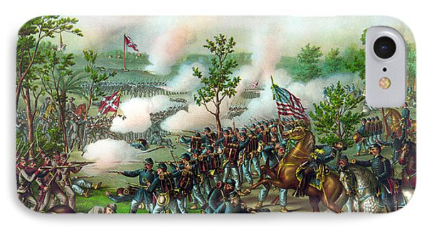 Battle Of Atlanta IPhone Case by War Is Hell Store