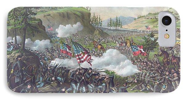 Battle Of Chickamauga IPhone Case by American School