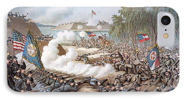 Battle Of Corinth, 1862 Phone Case by Granger
