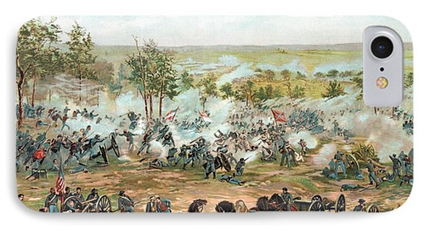 Battle Of Gettysburg Phone Case by War Is Hell Store