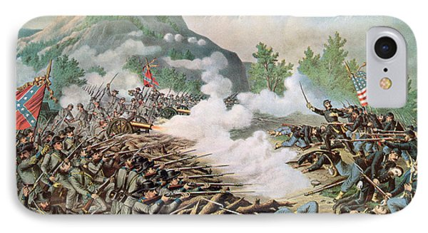 Battle Of Kenesaw Mountain Georgia 27th June 1864 IPhone Case