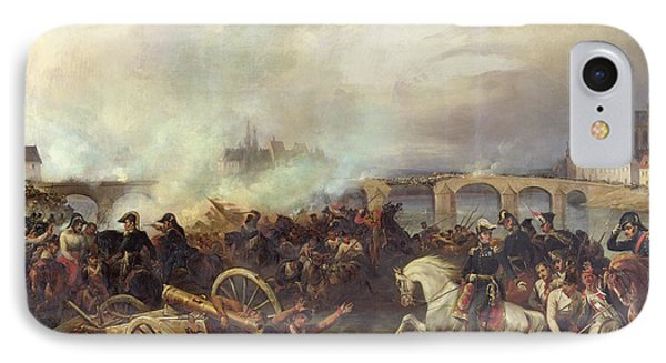 Battle Of Montereau Phone Case by Jean Charles Langlois