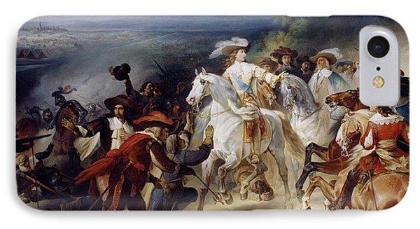Battle Of Rocroy Phone Case by Francois Joseph Heim