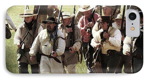 Battle Of San Jacinto IPhone Case by Kim Henderson