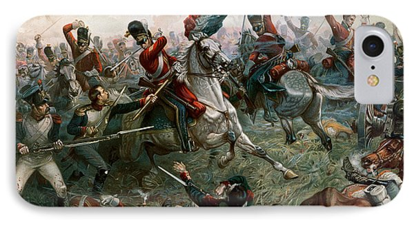 Battle Of Waterloo Painting By William Holmes Sullivan