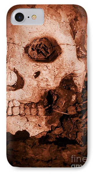 Battle Skull IPhone Case by Jorgo Photography - Wall Art Gallery