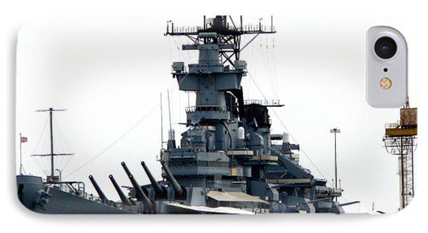 Battleship New Jersey IPhone Case