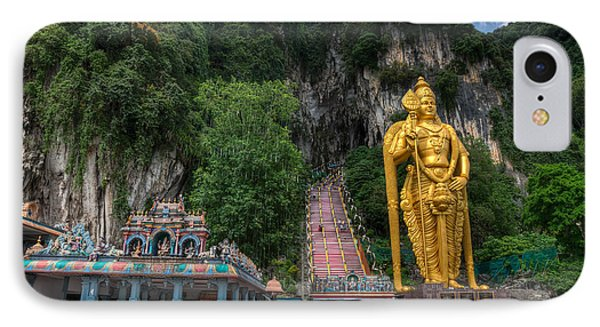 Batu Caves Phone Case by Adrian Evans