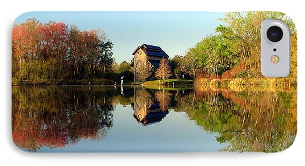 IPhone Case featuring the photograph Baughman Meditation Center by Farol Tomson