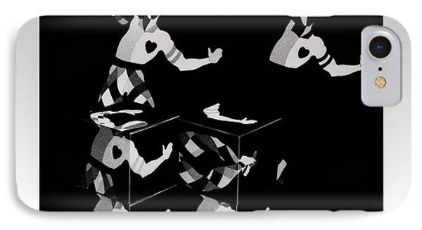 Bauhause Ballet Phone Case by Charles Stuart
