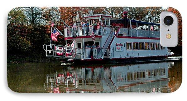 IPhone Case featuring the photograph Bavarian Belle Riverboat by LeeAnn McLaneGoetz McLaneGoetzStudioLLCcom