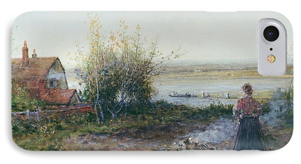 Bawdsey Ferry IPhone Case by George Henry Boughton