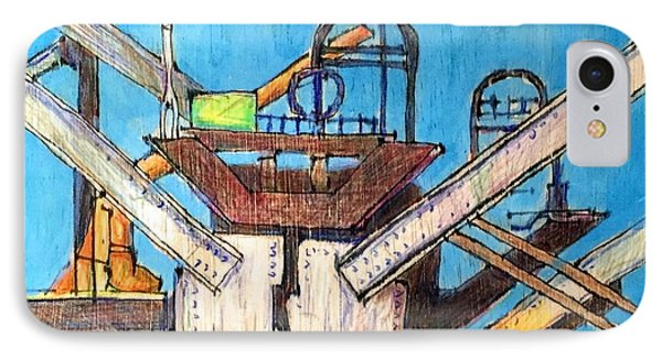 Bay Bridge Demolition 2 IPhone Case by Bill Jeng