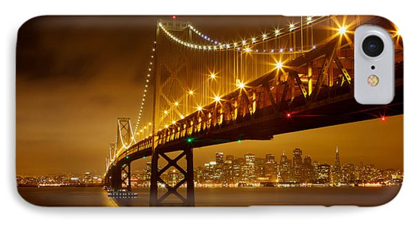 IPhone Case featuring the photograph Bay Bridge by Evgeny Vasenev