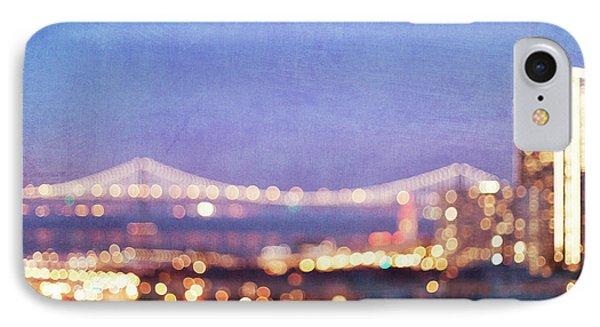 Bay Bridge Glow IPhone Case