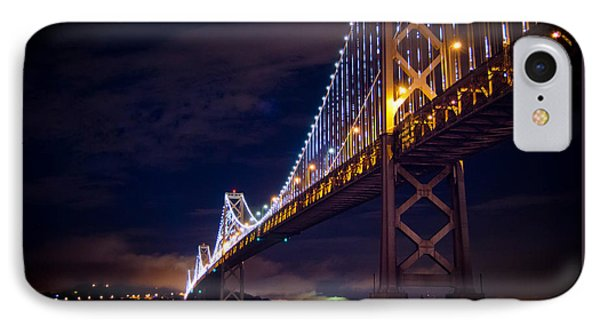 Bay Bridge San Francisco IPhone Case by Ajay Tewarie