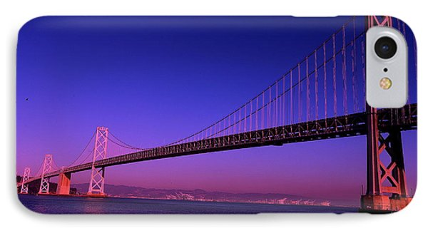 Bay Bridge Sunset IPhone Case