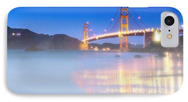 Bay Bridge With Ground Fog IPhone Case by Garland Johnson