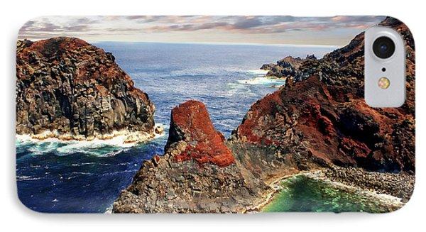 Bay Of Ponta Da Barca IPhone Case by Anthony Dezenzio
