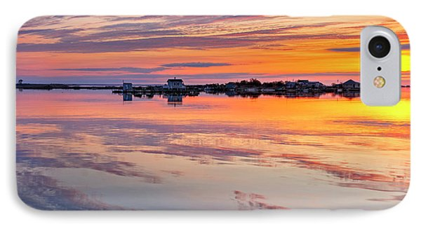 Bay Sunrise IPhone Case by Mike Lang