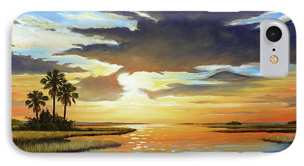 Bay Sunset IPhone Case by Rick McKinney