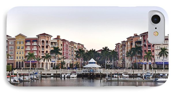 Bayfront Shopping Center And Marina Phone Case by Rob Tilley