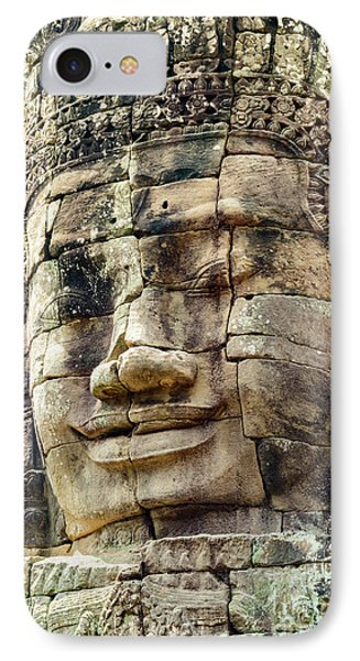 Bayon 2 IPhone Case by Werner Padarin