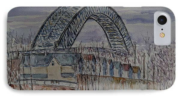 Bayonne Bridge Phone Case by Anthony Butera