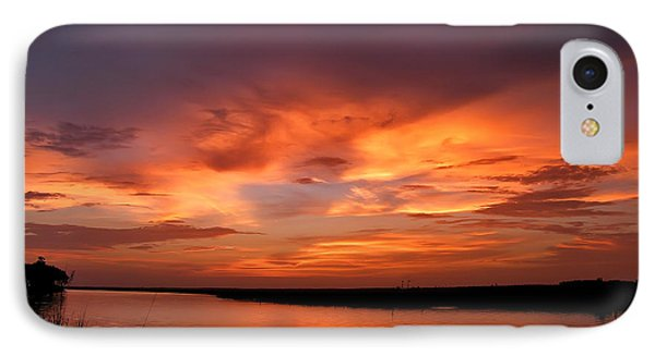 Bayou Sunset IPhone Case by Brian Wright