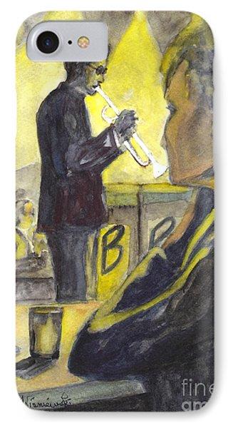 Bb Jazz Phone Case by Carol Wisniewski