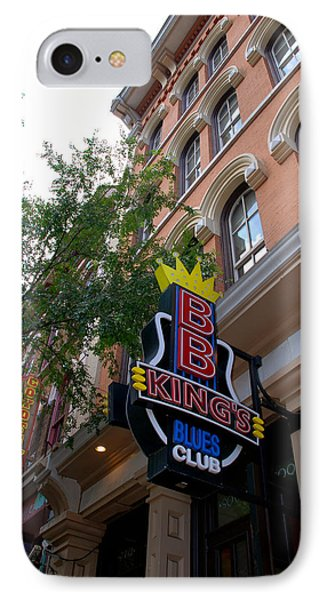 Bb King Bar Nashville IPhone Case by Susanne Van Hulst