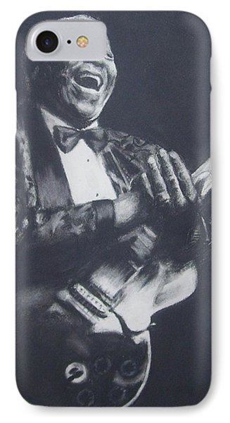 Bb King Phone Case by Cynthia Campbell
