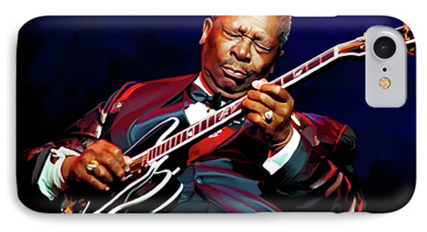 Bb King IPhone Case by Paul Tagliamonte