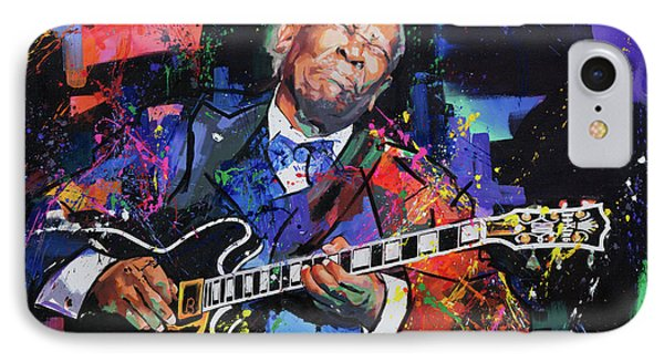 Bb King IPhone Case by Richard Day
