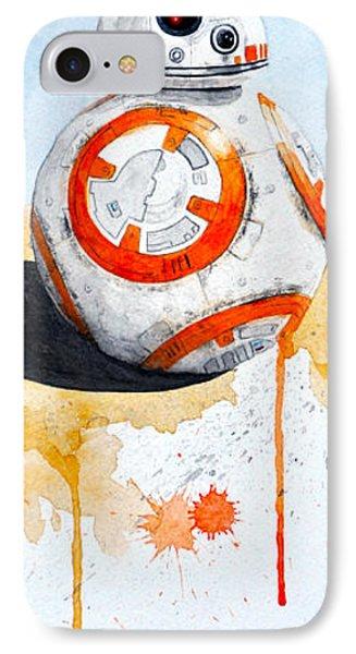BB8 Phone Case by David Kraig