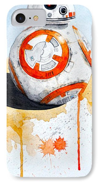 BB8 IPhone Case by David Kraig