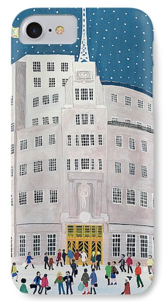 Bbc's Broadcasting House  IPhone Case