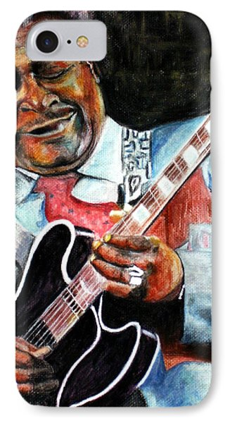 Bbking IPhone Case by Frances Marino