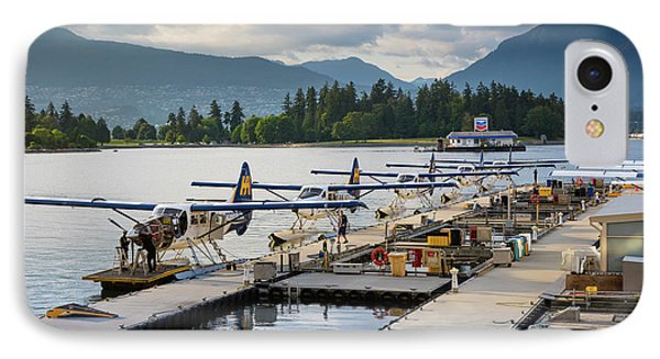 Bc Seaplanes IPhone Case by Inge Johnsson