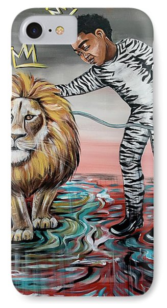 iPhone 7 Case - Be Courageous My Son by Artist RiA