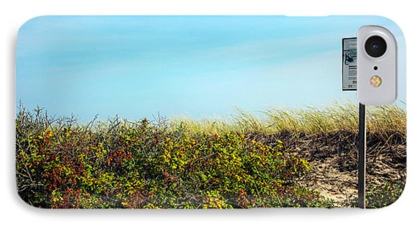 IPhone Case featuring the photograph Be Kind To The Dune Plants by Madeline Ellis