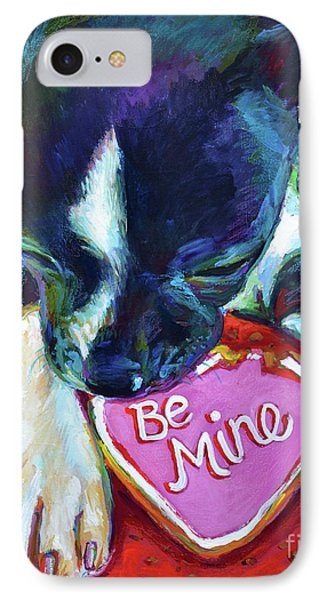 IPhone Case featuring the painting Be Mine by Robert Phelps