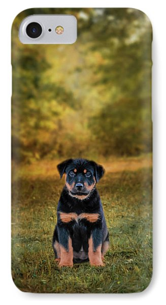 Be My Friend Puppy Dog Art IPhone Case