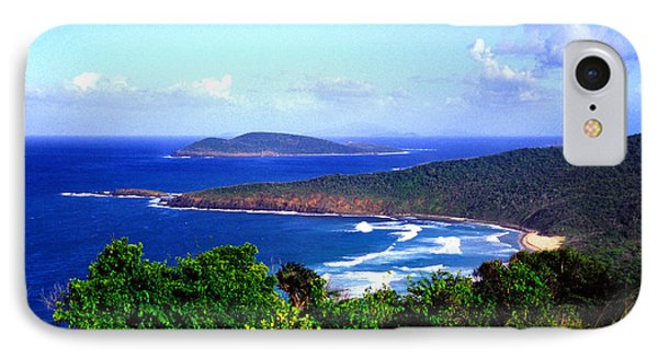 Beach And Cayo Norte From Mount Resaca Phone Case by Thomas R Fletcher